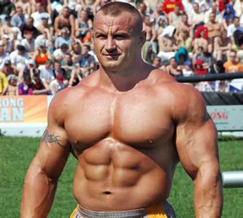 Mariusz Pudzianowski Strongman Training Workout
