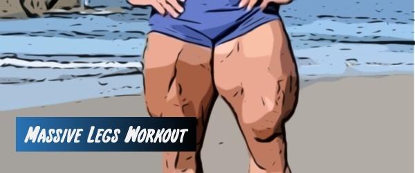 Massive Legs Squat Workout