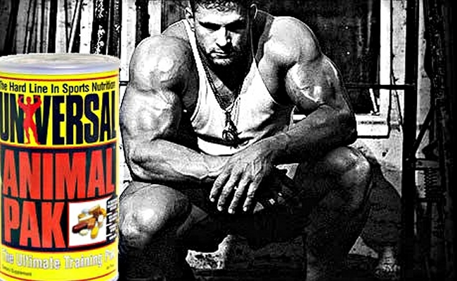 Animal Pak Push Legs Pull Workout Routine