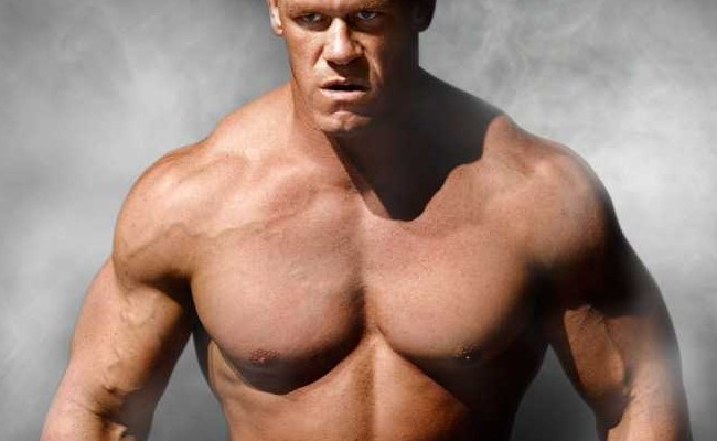 WWE Superstar john cena shoulder workout