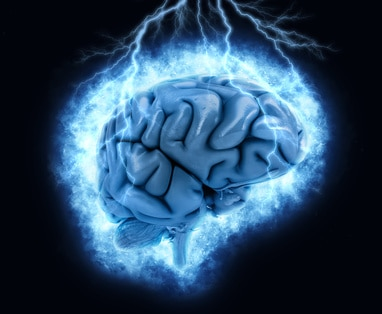 A brain scan showing how Adrafinil improves alertness and focus