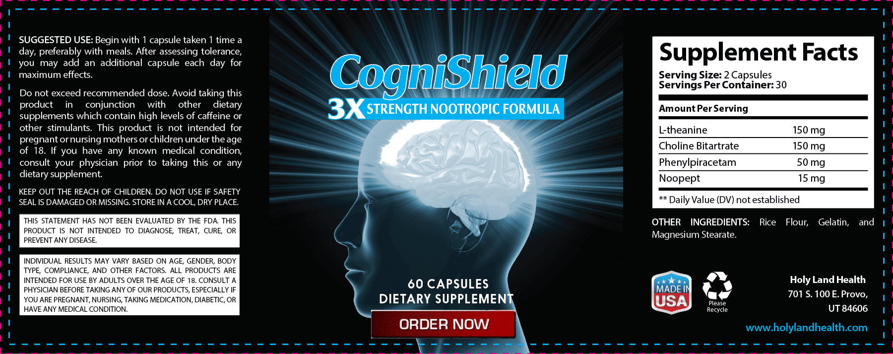 CogniShield Review – Do The Ingredients Actually Improve Brain Function and Memory?