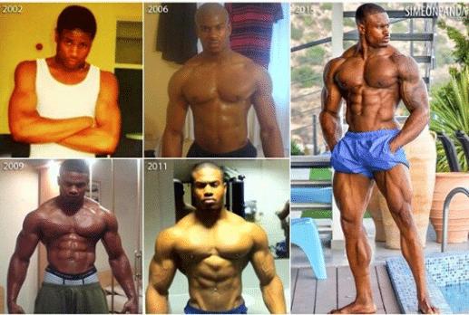 is Simeon Panda Natural or Taking Steroids