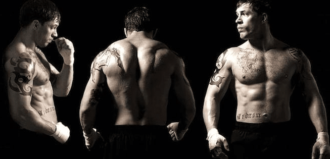 Is Tom Hardy on Steroids?