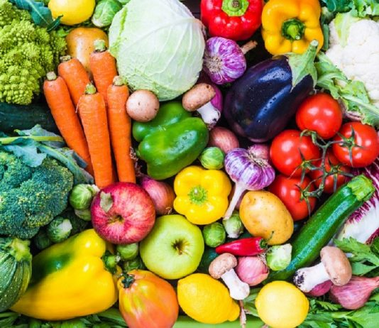fresh fruits for vegetarians