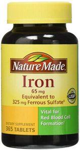 Nature Made Iron 65 mg