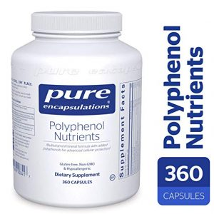 Pure Encapsulations - Polyphenol Nutrients - Hypoallergenic Nutrient Dense Multivitamin/Mineral Formula