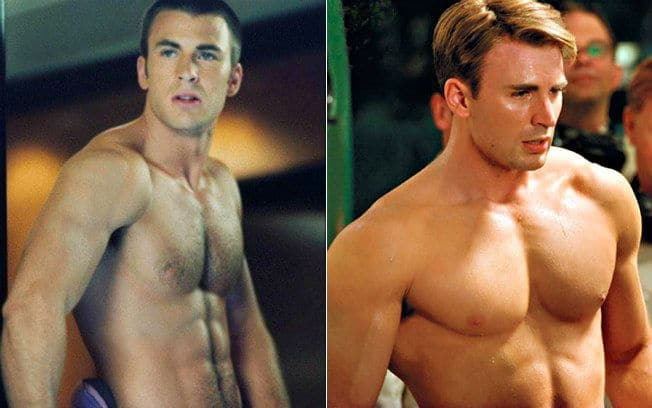 Does Chris Evans Use Steroids For Captain America?