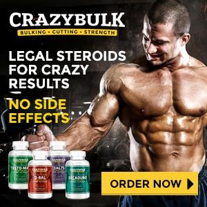 crazy bulk advertisement