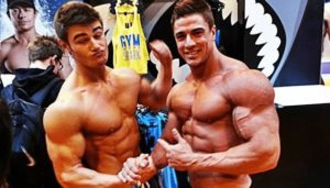 bodybuilders potentially on steroids