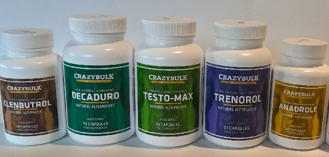 different steroids