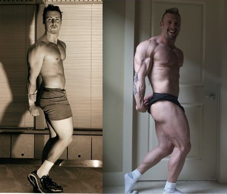 kris gethin transformation