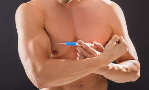 steroid injection with needle