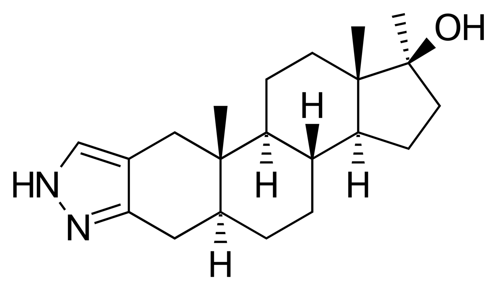 Stanozolol Chemical Structure
