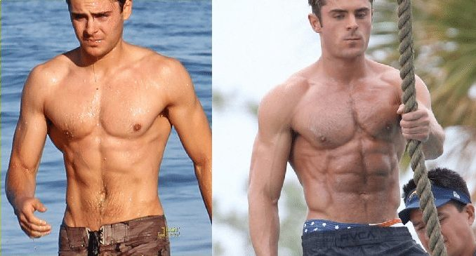 Did Zac Efron Take Steroids for Baywatch?