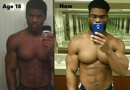 Donte Franklin natural transformation
