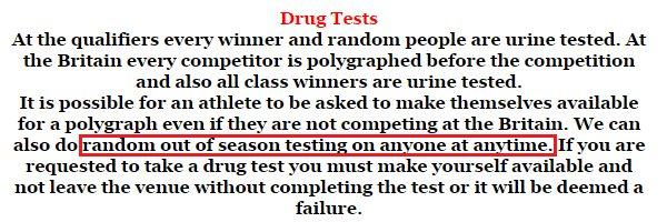 bnbf drug testing