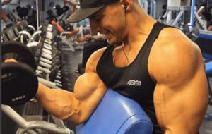 big arms steroids