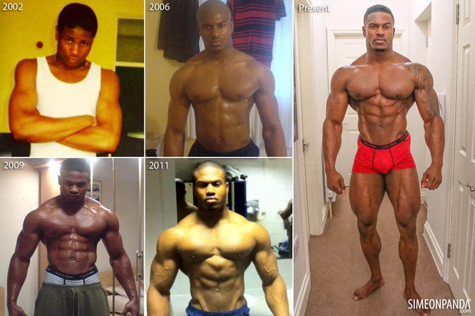 simeon panda before after