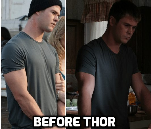 chris hemsworth natural