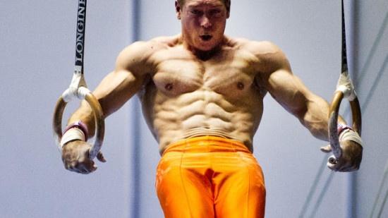 gymnast muscle