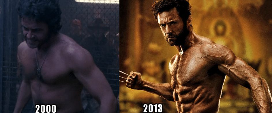 hugh jackman clenbuterol results before and after