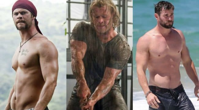 Did Chris Hemsworth Take Steroids For Thor?