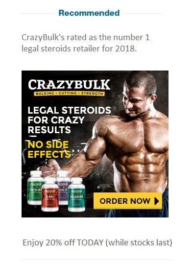 Street Talk: steroid