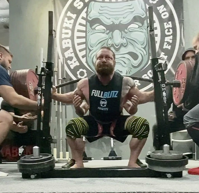 Chris Duffin Squat