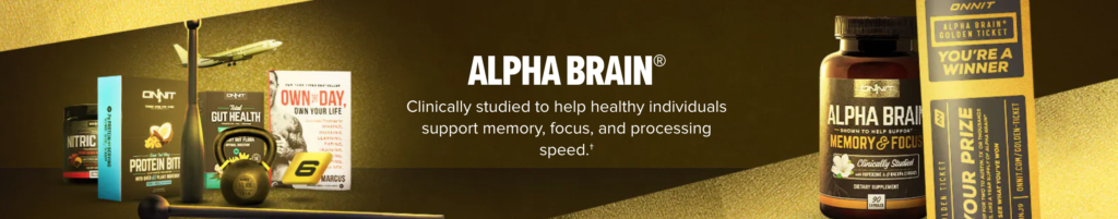 alpha brain review onnit