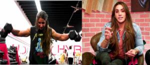 Stefi Cohen shoulders hypertrophy
