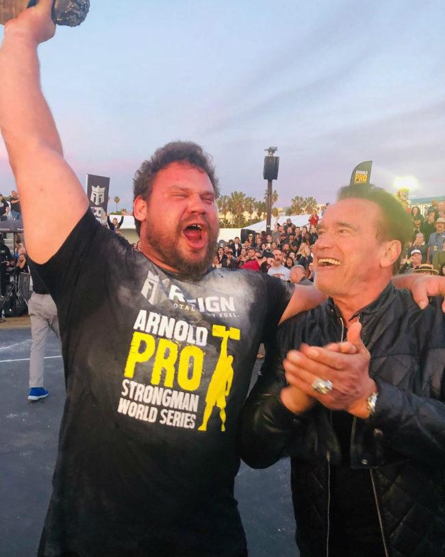 2020 Arnold Strongman USA