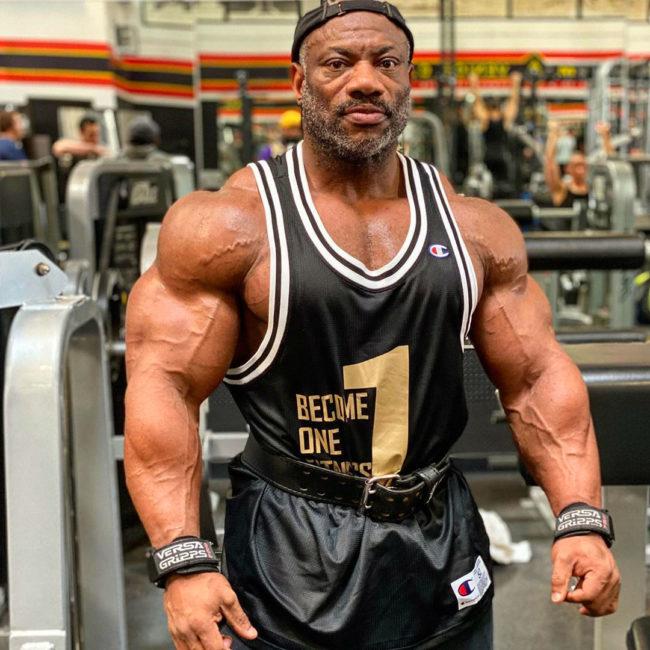 Dexter Jackson workout