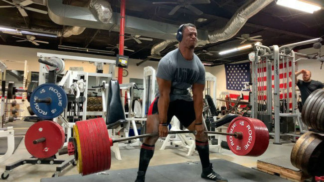Jamal Browner deadlift total