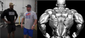 Ronnie Coleman back workout