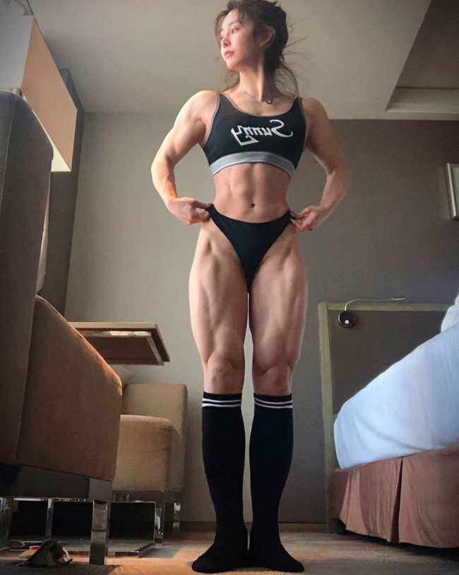 Yuan Herong bodybuilding