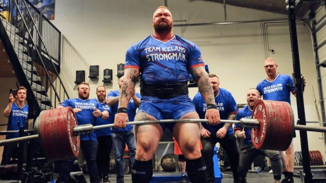 Hafthor Bjornsson Heaviest Deadlift