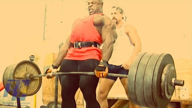 Ronnie Coleman Heaviest Deadlift