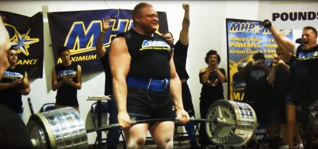 Benedikt Magnusson Heaviest Deadlift