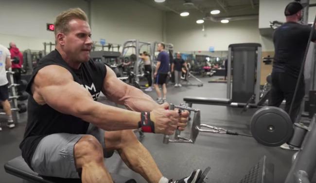 Jay Cutler Back Exercises