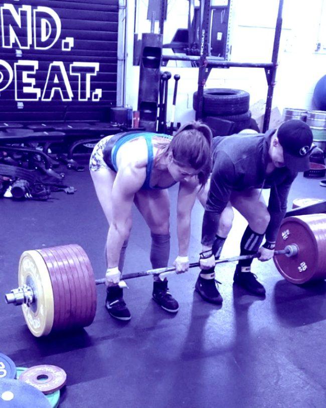 Jessica Buettner 1003lb deadlift