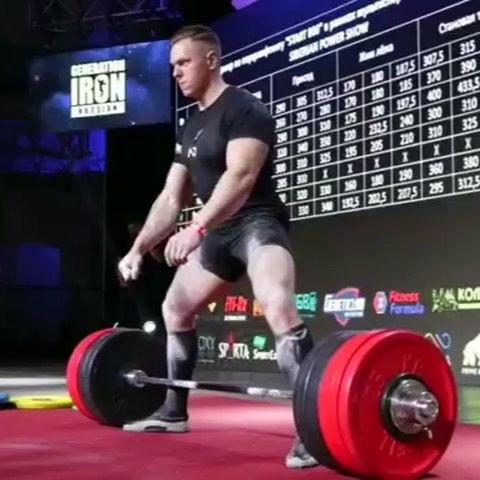 Krzysztof Wierzbicki deadlift