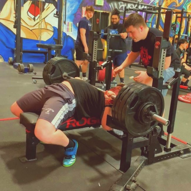 Max Shethar deadlift