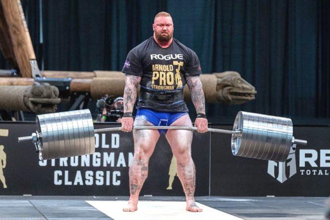 Thor Bjornsson 400kg deadlift