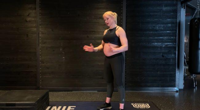 Annie Thorisdottir Home Workout