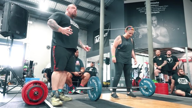 Eddie Hall Tips deadlift
