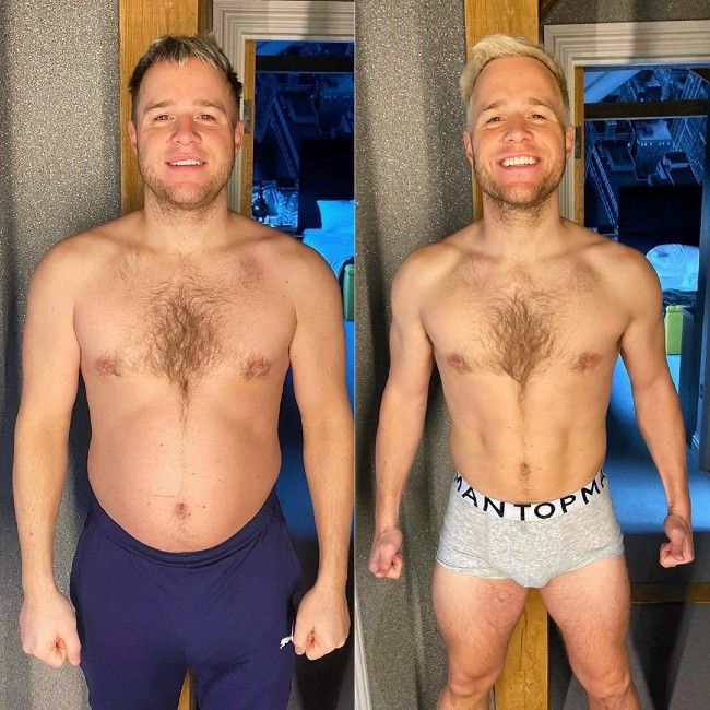 Olly Murs home workout