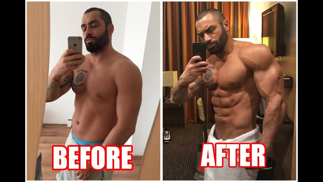 steroids before and after 1 cycle pictures