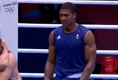anthony joshua olympics